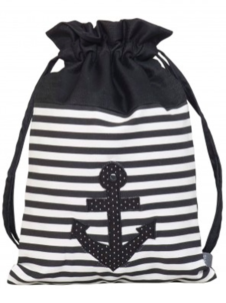 SAC A CHAUSSURES ANCRE & POIS LIGNE