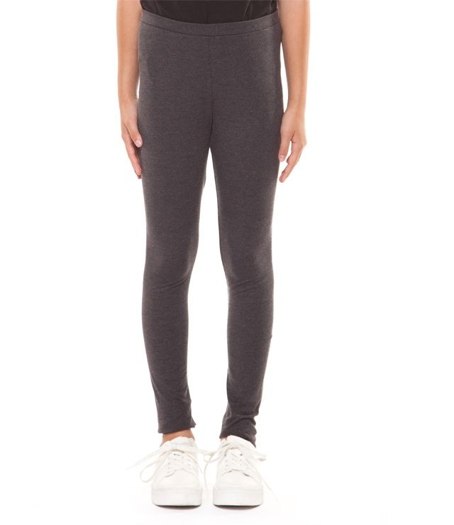 LEGGING UNI BASIC charcoal