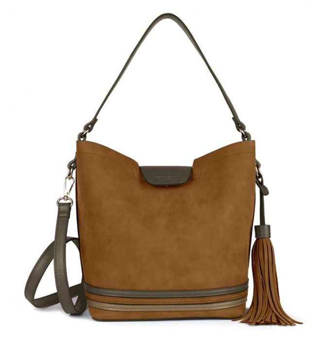 SAC A MAIN 2 EN 1 NUBUCK TAN