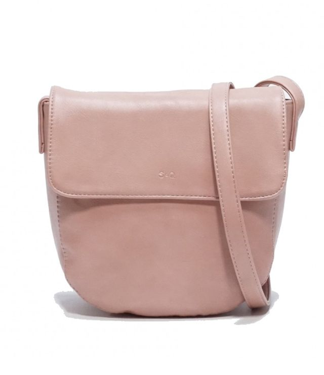 SAC A MAIN CROSSBODY FORMAT MOYEN rose