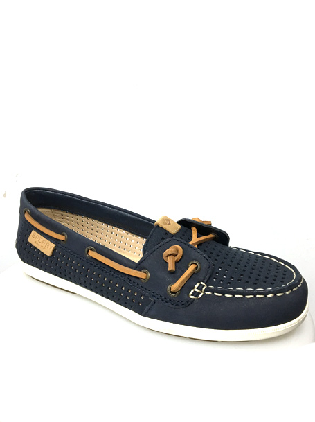 SOULIER LOAFER STYLE NAUTIQUE marine